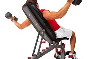 XMark Fitness Adjustable FID Weight Bench